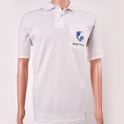Polo Shirt with Pocket White