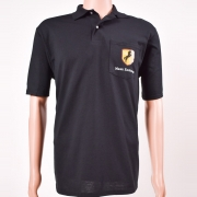 Polo Shirt with Pocket Black