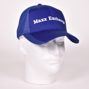 2 Color Mesh Cap - Royal/White