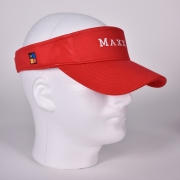 Maxx E Red Visor