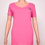 Tri-blend V-Neck Pink Heather