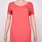 Tri-blend V-Neck Red Heather