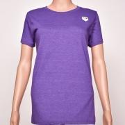 50/50 Crew Neck Purple Heather