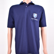 Polo Shirt with Pocket Navy