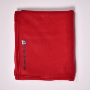 Blanket (Fleece) red